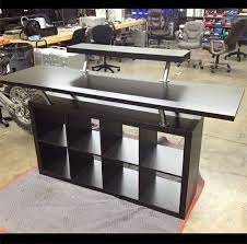 dj booth made from ikea parts