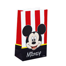 Set De 6 Bolsas De Papel Mickey Classic Comprar Online Miles