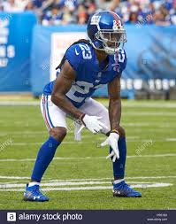 East Rutherford, New Jersey, USA. 1st Oct, 2018. New York Giants defensive  back B.W. Webb (23) during a NFL game between the New Orlean Saints and the  New York Giants at MetLife