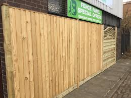 Siberian Larch Featheredge Fence Panels