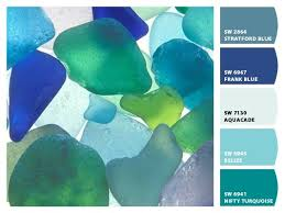 sherwin williams sea glass colors