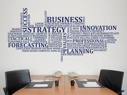 Business Wall Sticker Office Wall Decal Decor For Office Etsy In 2020 Office Wall Decals Office Wall Design Wall Sticker