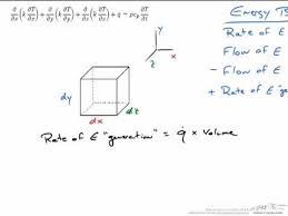 heat equation derivation you