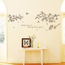 Shop Tree Branch Wall Decal Mural Sticker Diy Art Removable Vinyl Home Decor Stickers Online From Best Wall Stickers Murals On Jd Com Global Site Joybuy Com