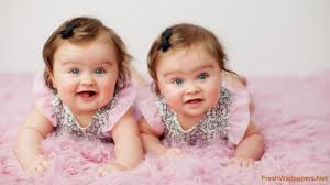 cute baby twins wallpaper wallpapers
