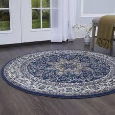 medallion navy blue area rug rug