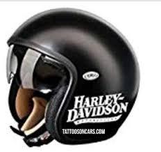 1950 2018 Hd Motorcycle Logo Helmet Decal Set Pair Tattoosoncars Com