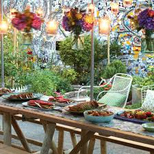 out door party ideas outdoor