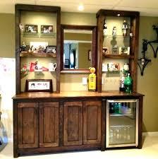 mirrored bar shelves glass for mirror