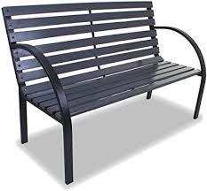 natural outdoor balcony bench hxwxd 82