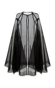 Alex Perry Campbell Cape In Black   ModeSens