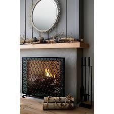 corbett bronze fireplace screen in 2020