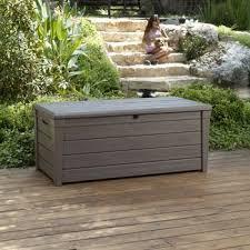 keter brightwood 120 gallon deck box