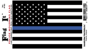 Thin Blue Line American Police Flag Decal Innovative