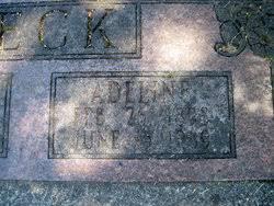Adeline Beck (1898-1989) - Find A Grave Memorial