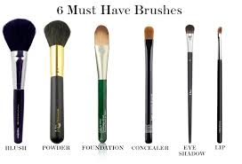 makeup brushes you actually need