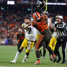 The Myles Garrett vs. Mason Rudolph Steelers-Browns fight, explained -  SBNation.com