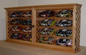 wooden display cabinets for toys car