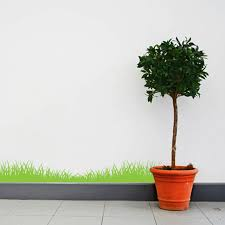 Bright Green Grass Wall Decal 12 By Inkwood Impressions On Zibbet