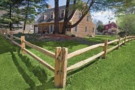 Wooden Rail Fencing Post And Rail Fence Rustic Fence Rail Fence
