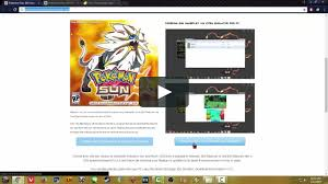 How to play Pokemon Sun and Moon on MAC or PC Guide! Download ...