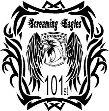 Screamin Eagles 101st Airborne Military Vinyl Decal Sticker Car Truck Wall Airborne Car Stickers Car Graphics