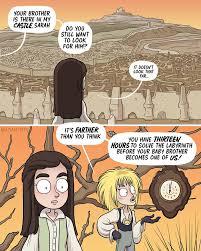 Solving the Labyrinth [Comic]