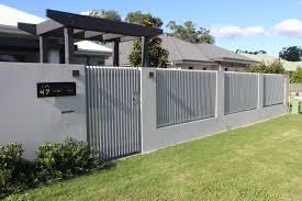 3d Vertical Slat Fence Design Fence Design Security Fence Compound Wall Design