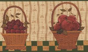 fruit berry baskets on checd table