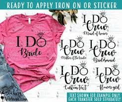 Iron On Transfer Or Sticker Decal S97 G5 Groom Groom S Crew Father Of The Bride Ring Security Stickers By Stephanie
