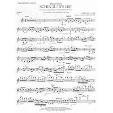schindlers list violin sheet music - Google Search