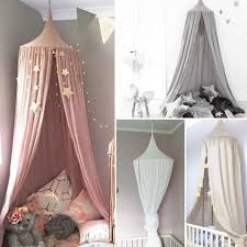 Summer Fashion Nordic Style Dome Mosquito Nets Curtain For Bedding Set Princess Bed Valance Bed Netting Kids Room Not Include Star Decor Wish