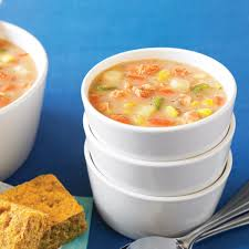 Healthy Salmon Corn Chowder Recipe ...