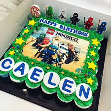 Megan'sCuppies - Ninjago pullapart cake for Caelen's 6th...