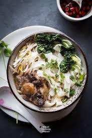Instant Pot Oxtail Ho Fun Noodle Soup ...