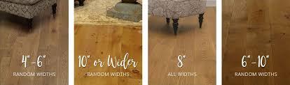 width for your wood floor