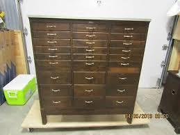 antique hamilton mfg co oak printers