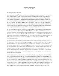 Statement of Doug Griffin September 14, 2015 The story of Courtney Ada  Griffin Courtney was born July 25th and was born the same