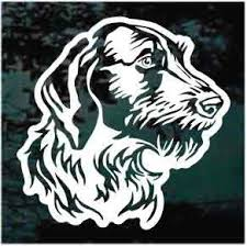 German Wirehaired Pointer Car Window Decals Decal Junky