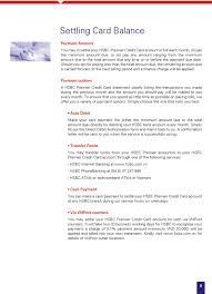 user guide for hsbc premier credit card