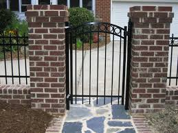Aluminum And Steel Gates Commericial And Residential Brabham Fence Columbia Sc