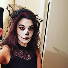 68 scary halloween makeup ideas to