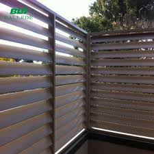 Aluminum Adjustable Airfoil Blade Louver Fence For Sunshade View Aluminum Airfoil Louver Fence Bld Product Details From Ballede Shanghai Metal Products Co Ltd On Alibaba Com