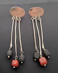 es 146 es 146 earrings with stones