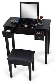 makeup vanity table flip mirror 2