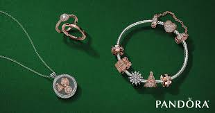 pandora rose jewelry collection