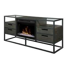 60 console with fire place 255 00