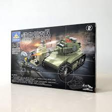 Mô hình đồ chơi lắp ráp xe tăng 159 mảnh ghép