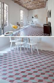 tile flooring with geometric patterns