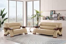 cherry wood grain living room set